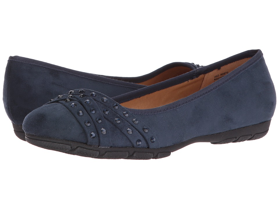 Rialto - Genevieve (Navy Suedette) Women's Shoes