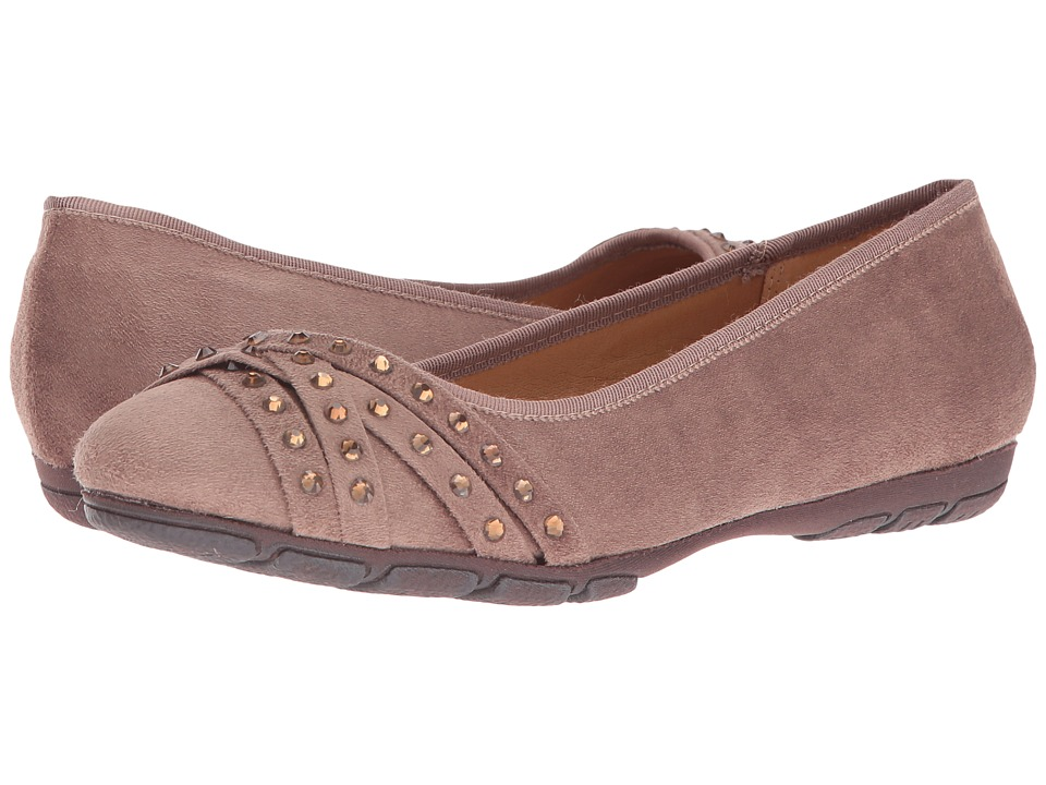 Rialto - Genevieve (Taupe Suedette) Women's Shoes