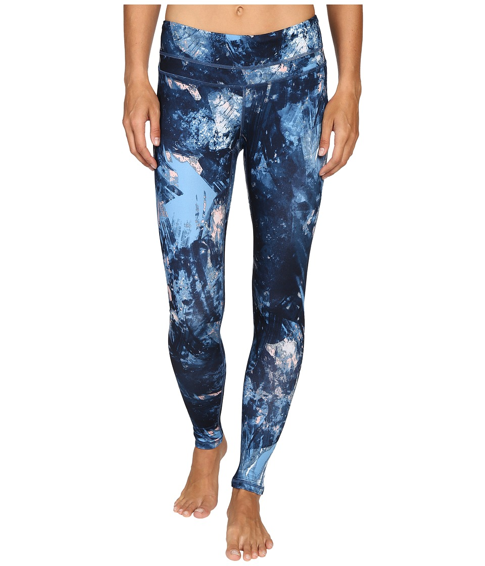 Lucy - Studio Hatha Legging (Blue Glacier Print 1) Women's Workout