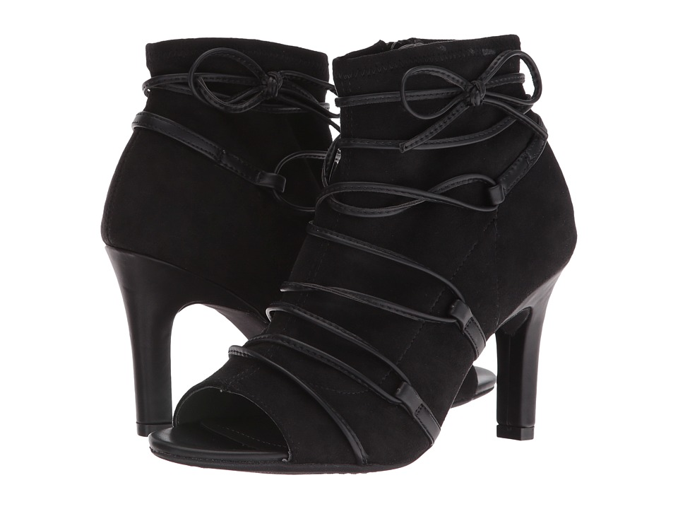 Rialto - Rochelle (Black Suedette) Women's Shoes