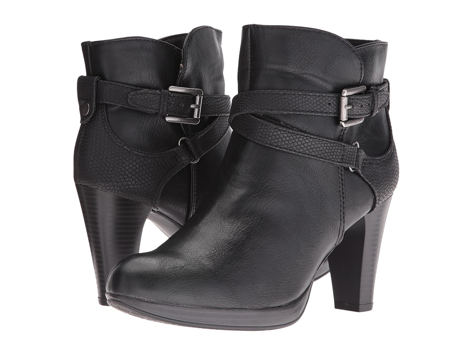 Rialto Pamela (Black Tumbled Smooth) Women