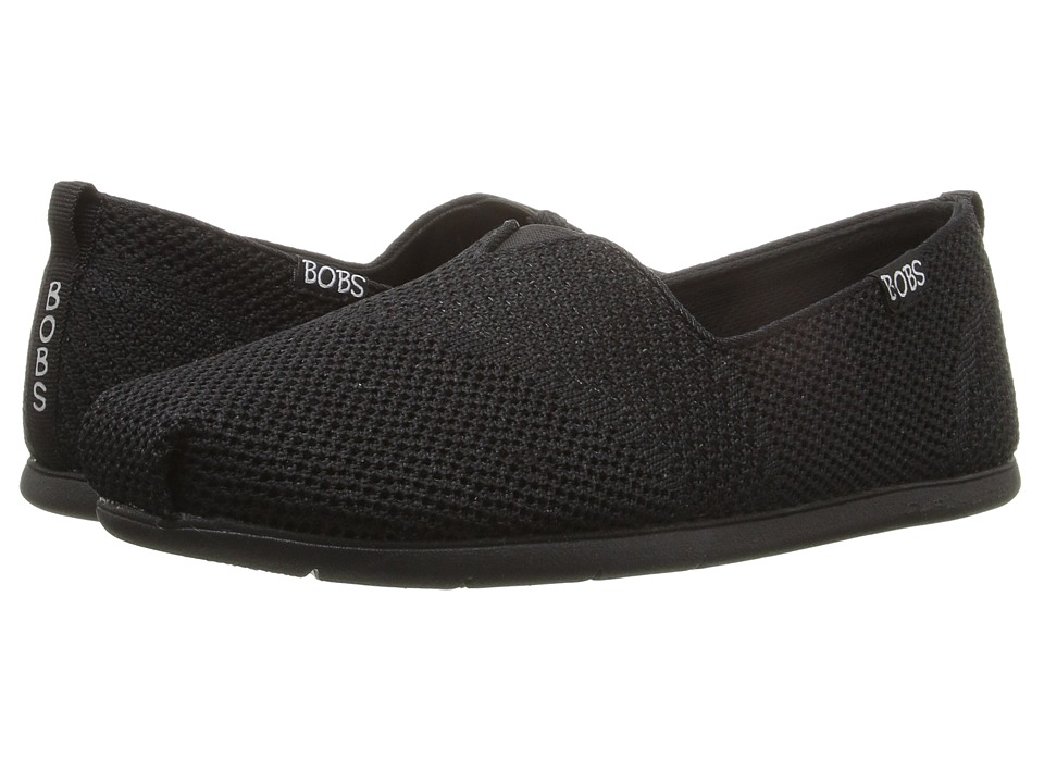 BOBS from SKECHERS Plush Lite (Black/Black) Women