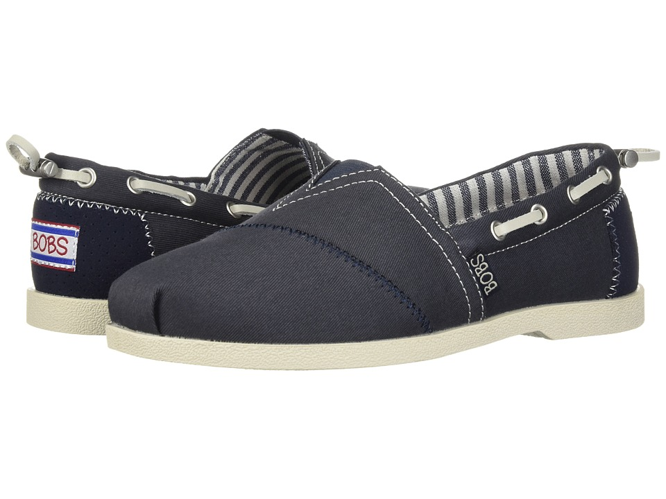 BOBS from SKECHERS - Chill Luxe - Traveler (Navy) Women's Shoes