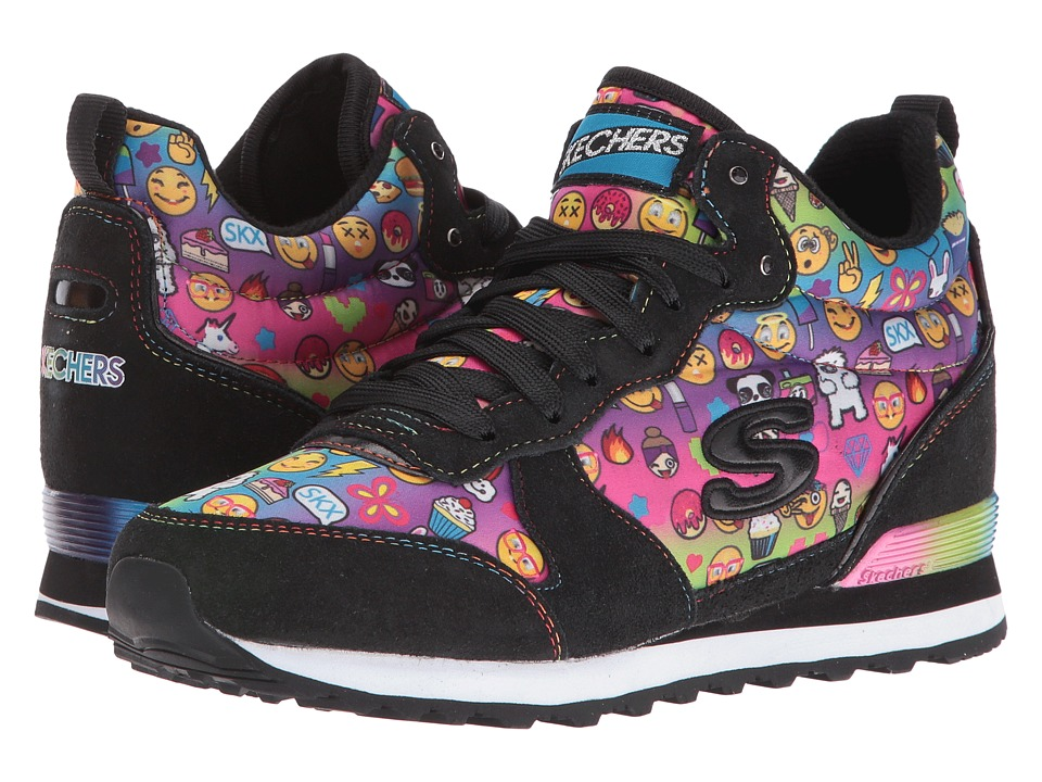 SKECHERS - OG 85 (Black/Multi) Women's Shoes