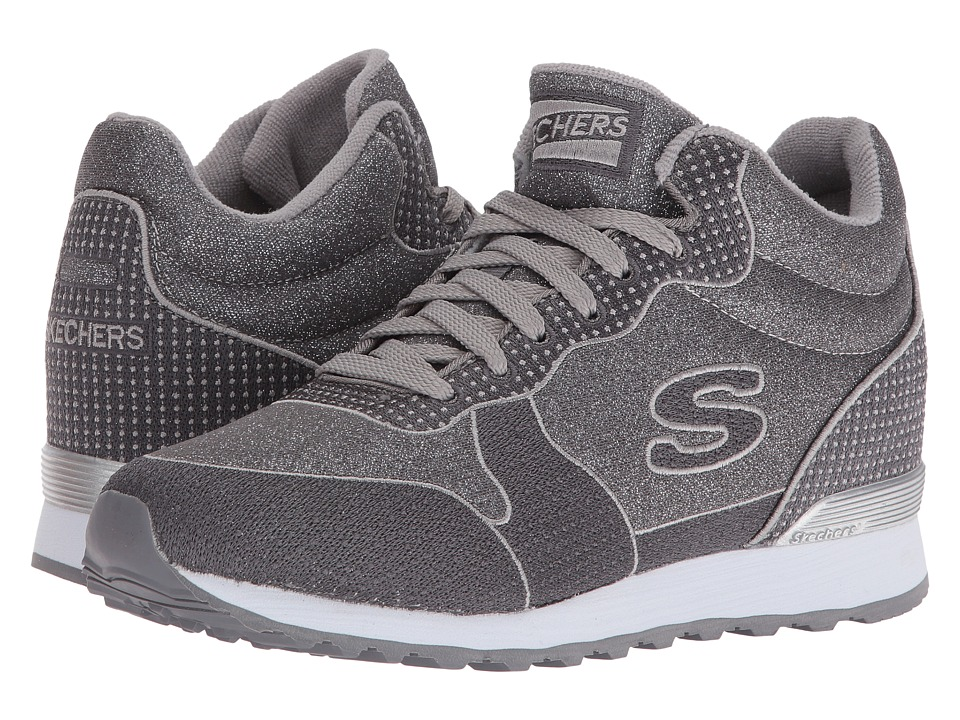 SKECHERS - OG 85 (Silver/Gray) Women's Shoes
