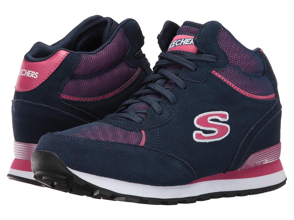 SKECHERS - OG 82 (Blue/Pink) Women's Shoes