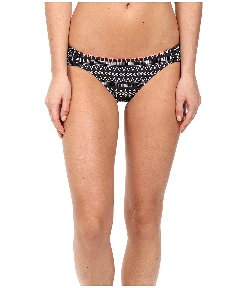 Volcom - On the Horizon Modest Bottom (Black) Women's Swimwear