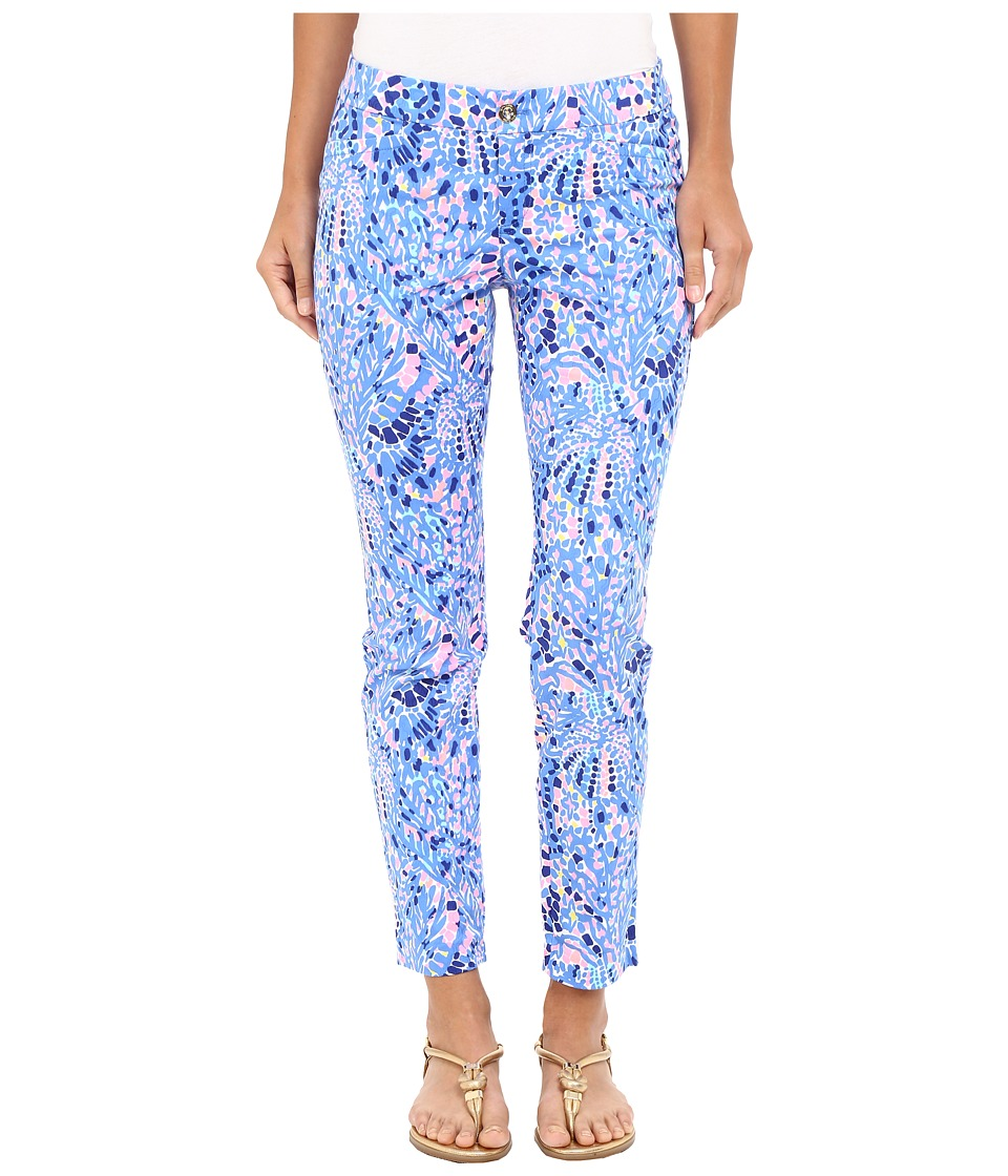 Lilly Pulitzer - Kelly Skinny Ankle Pants (Multi Tic Tac Tile All Over) Women's Casual Pants