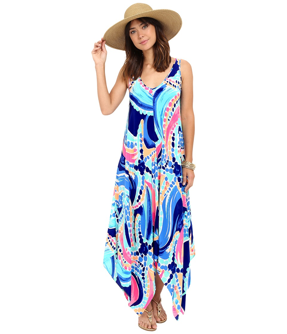 Lilly Pulitzer - Anise Dress (Multi Ocean Jewels) Women's Dress