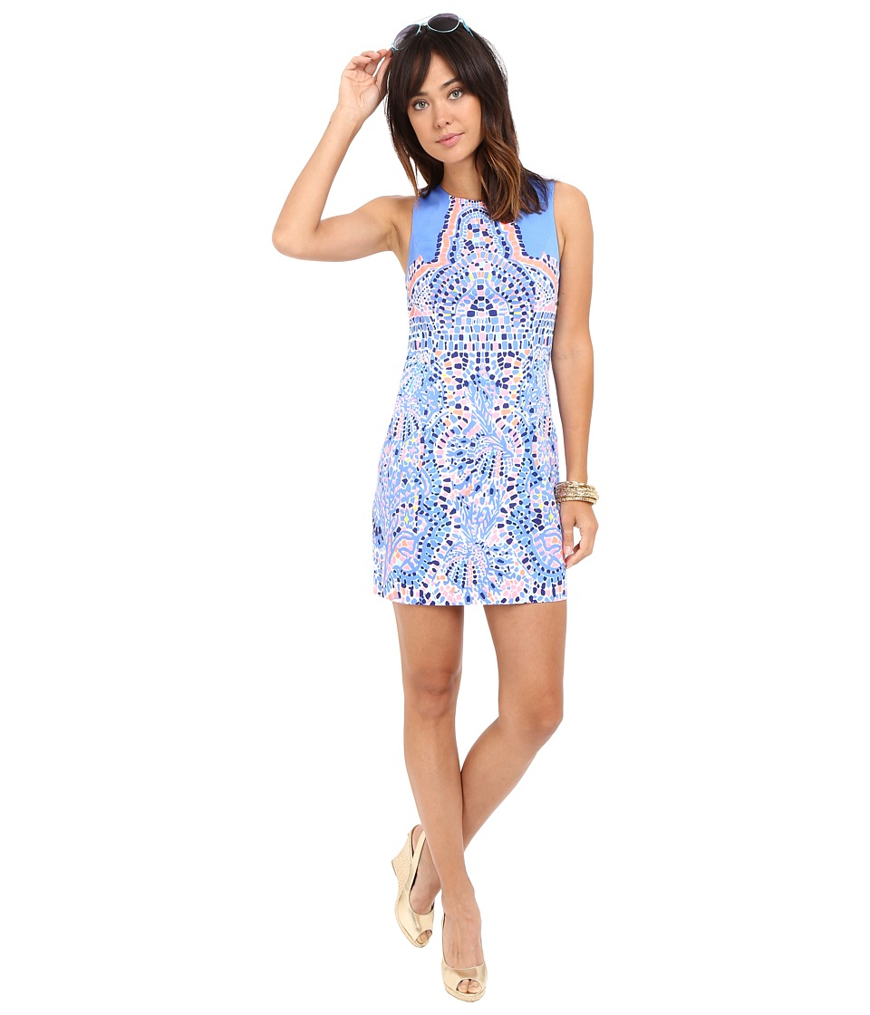 Lilly Pulitzer - Mila Shift Dress (Multi Tic Tac Tile Engineered) Women's Dress