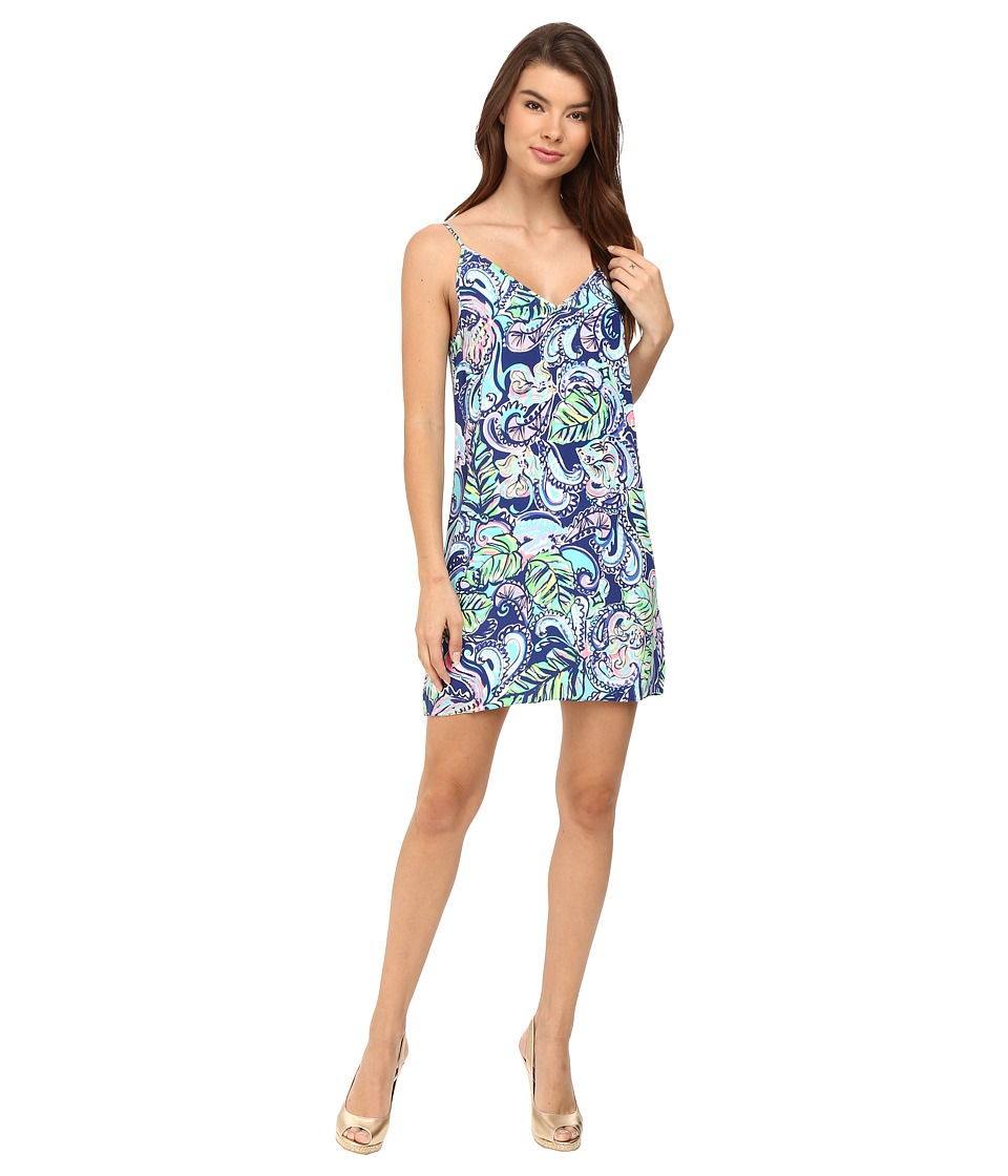Lilly Pulitzer - Lela Dress (Multi Hanging with Fronds) Women's Dress