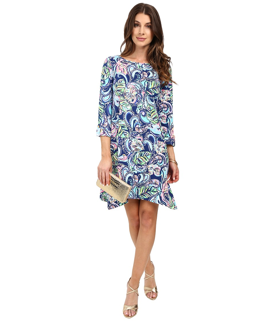 Lilly Pulitzer - Edna Dress (Multi Hanging with Fronds) Women's Dress
