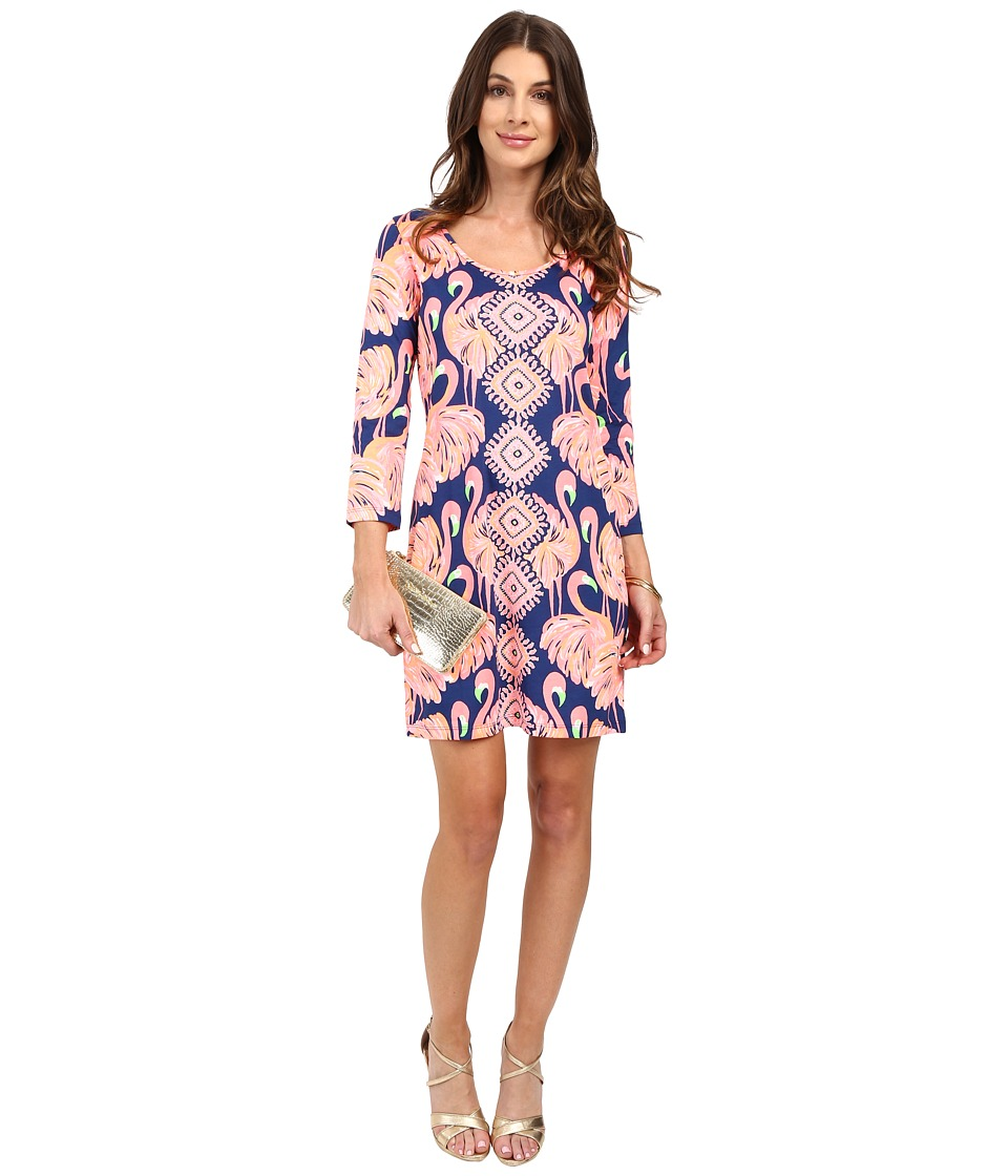 Lilly Pulitzer - Beacon Dress (Resort Navy Gimme Some Leg) Women's Dress