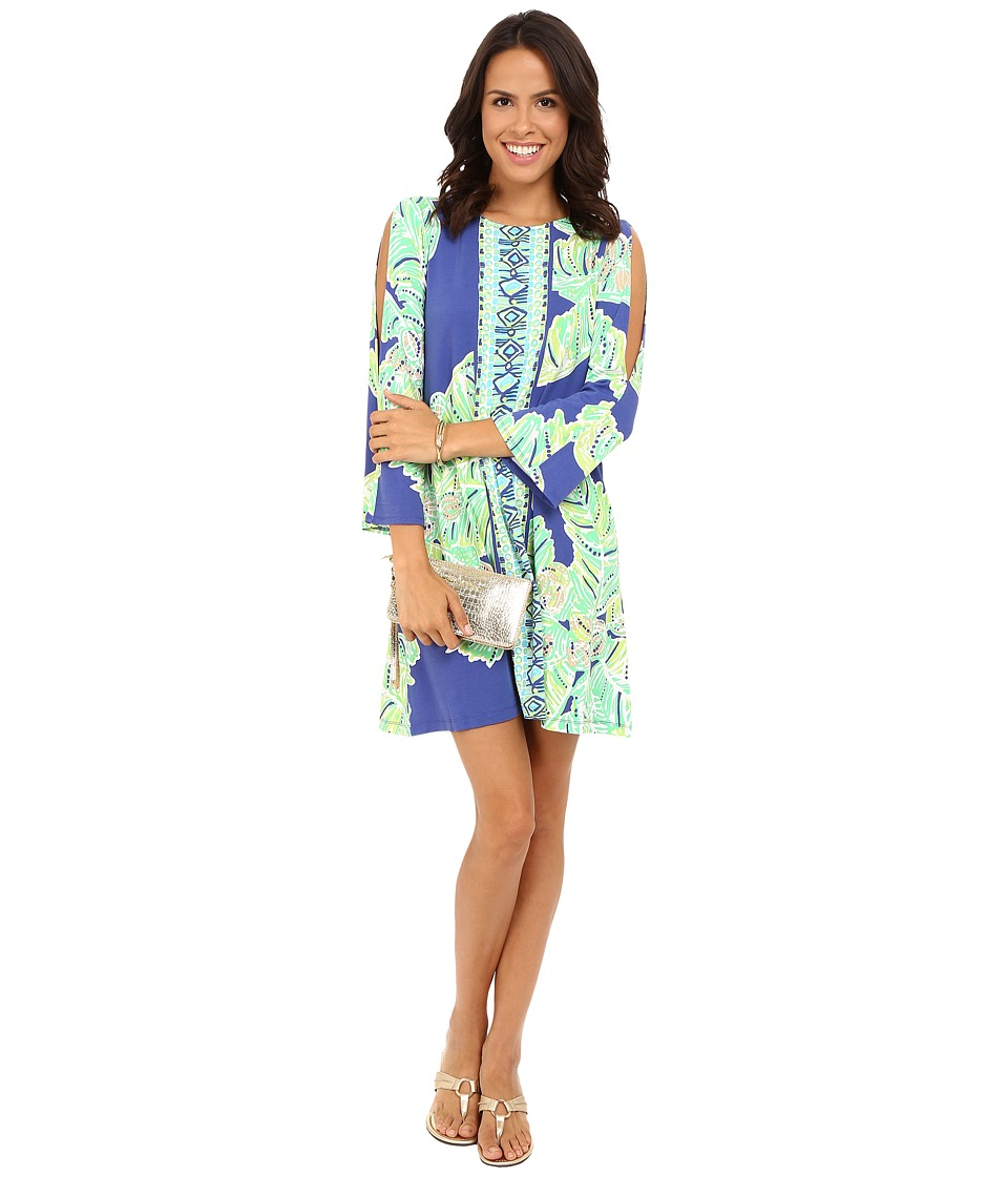 Lilly Pulitzer - Ophelia Dress (Iris Blue Latitude Adjustment) Women's Dress