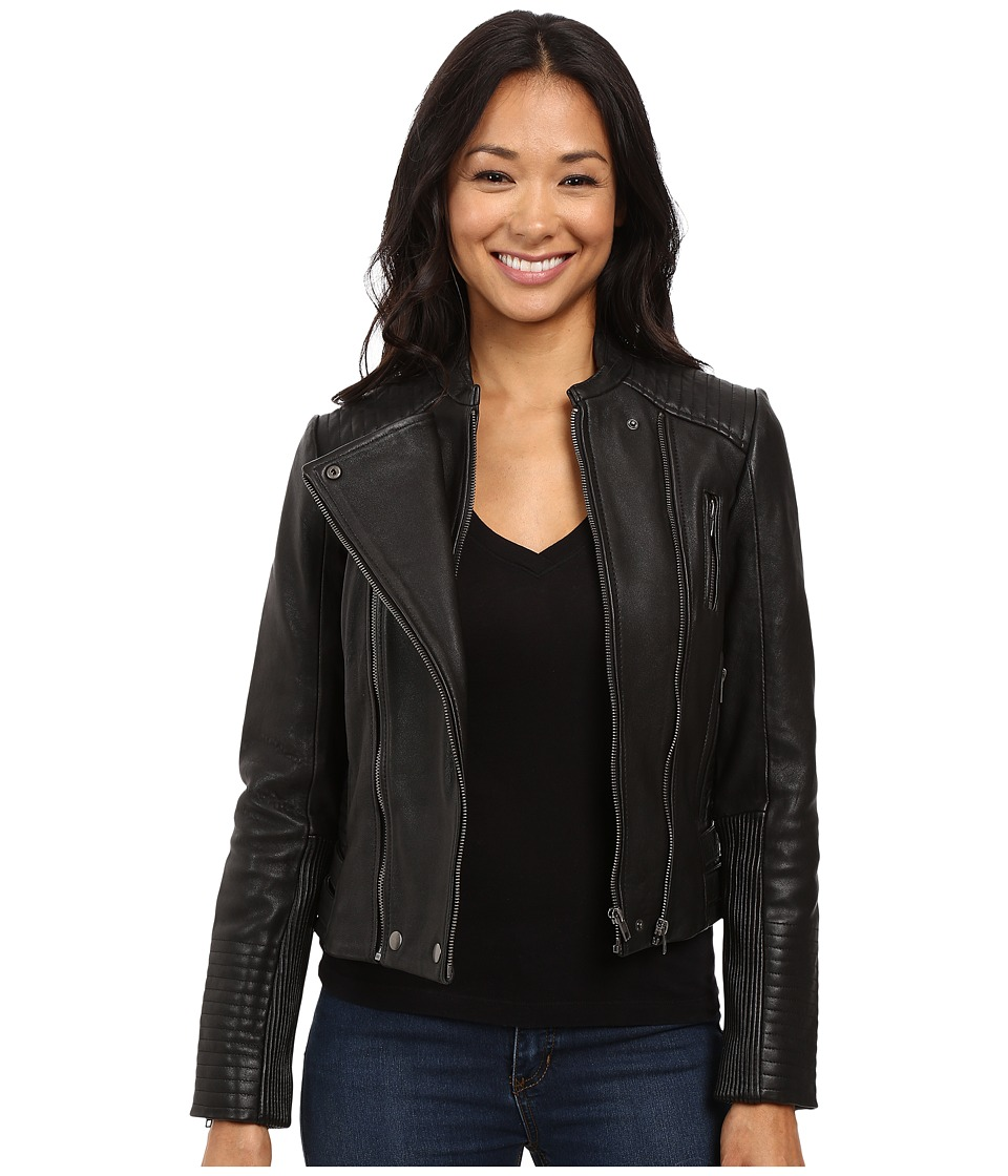 Lucky Brand - Biker Jacket (Lucky Black) Women's Coat