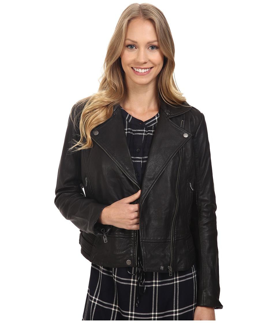 Lucky Brand - Major Moto Jacket (Lucky Black) Women's Coat