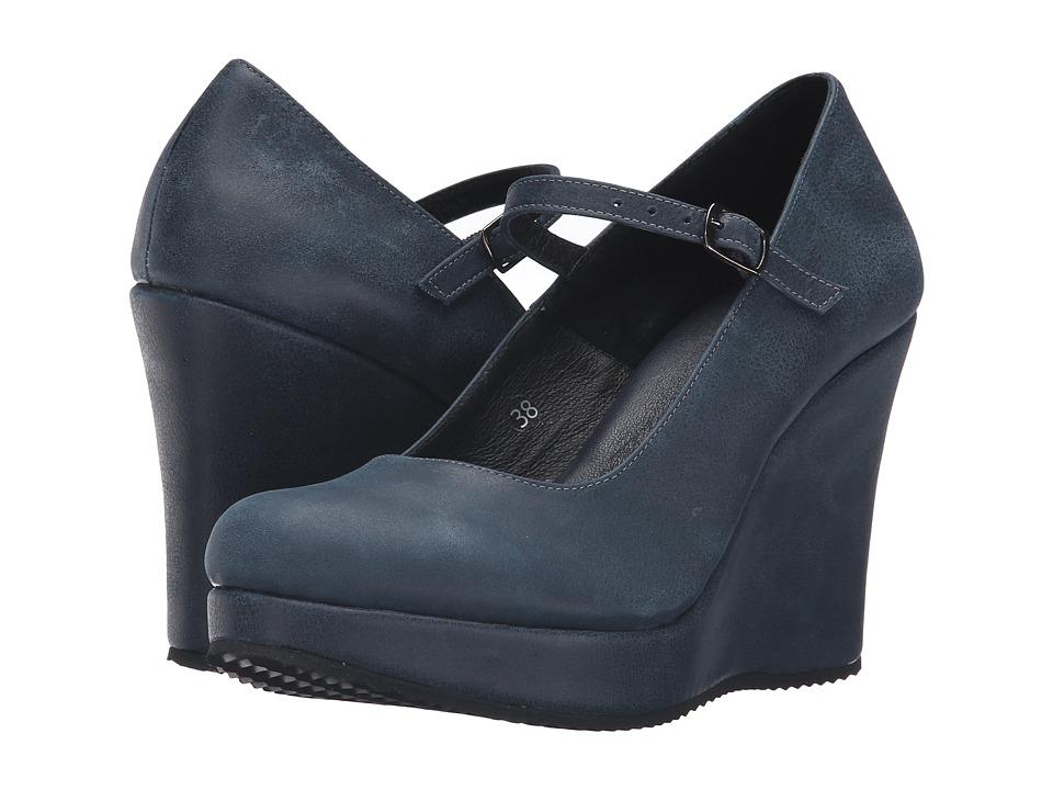 Cordani Wichita (Blue Vintage Leather) Women