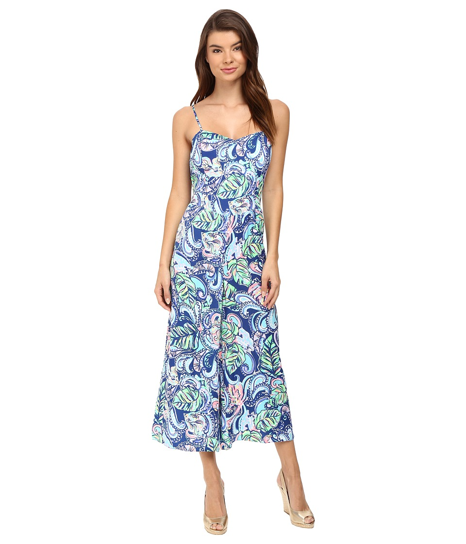 Lilly Pulitzer - Marnee Jumpsuit (Multi Hanging with Fronds) Women's Jumpsuit & Rompers One Piece