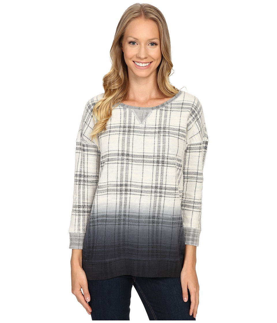 Lucky Brand - Plaid Dip-Dye Pullover (Multi) Women's Sweater