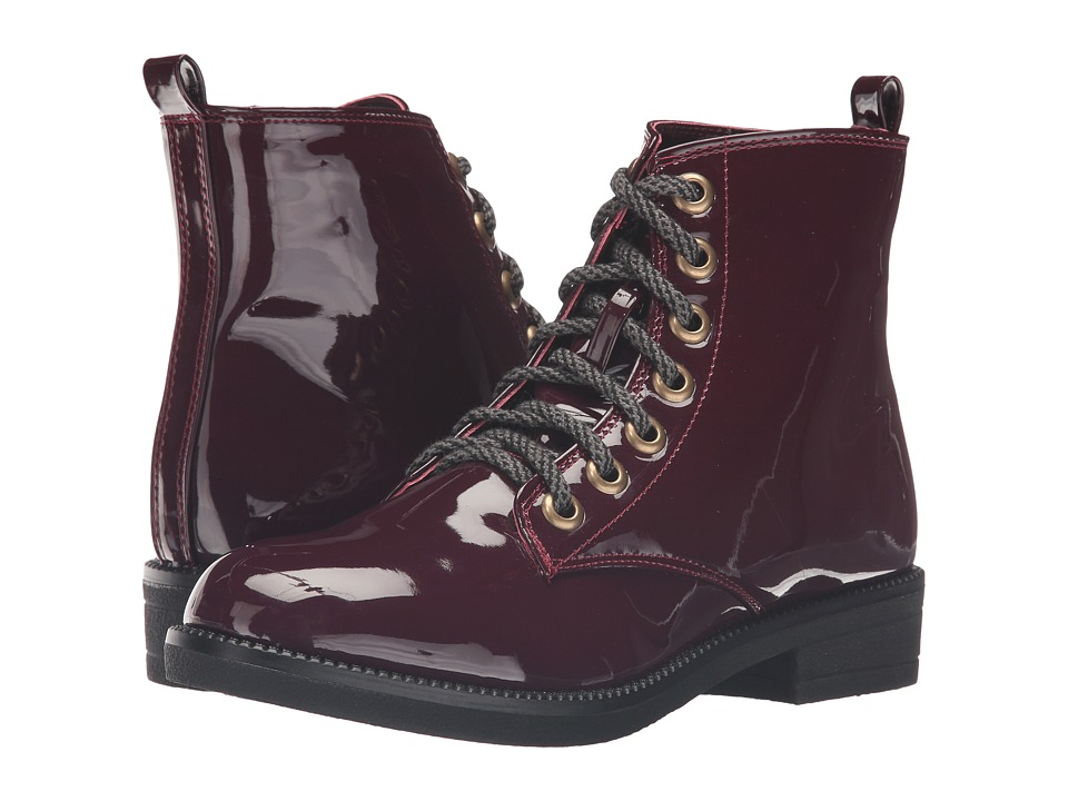 Dirty Laundry - Stefan (Wine) Women's Lace-up Boots