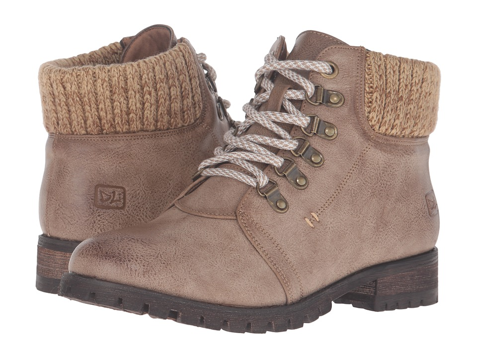 Dirty Laundry - Treble (Taupe) Women's Lace-up Boots