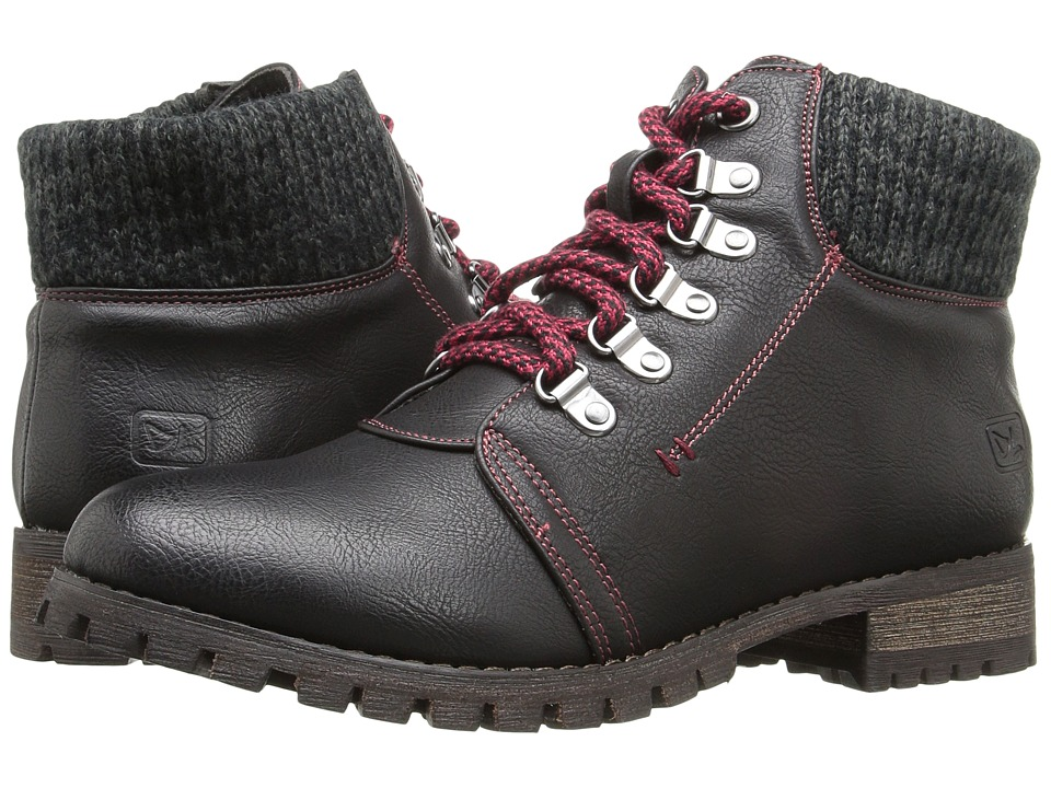 Dirty Laundry - Treble (Black) Women's Lace-up Boots