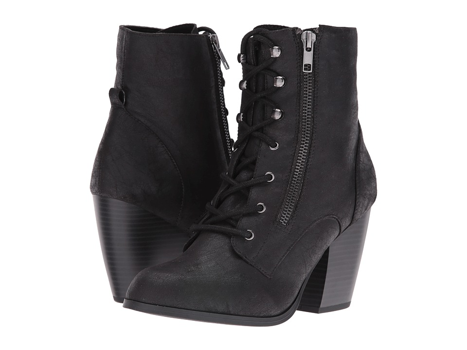 DOLCE by Mojo Moxy - Dandy (Black) Women's Lace-up Boots