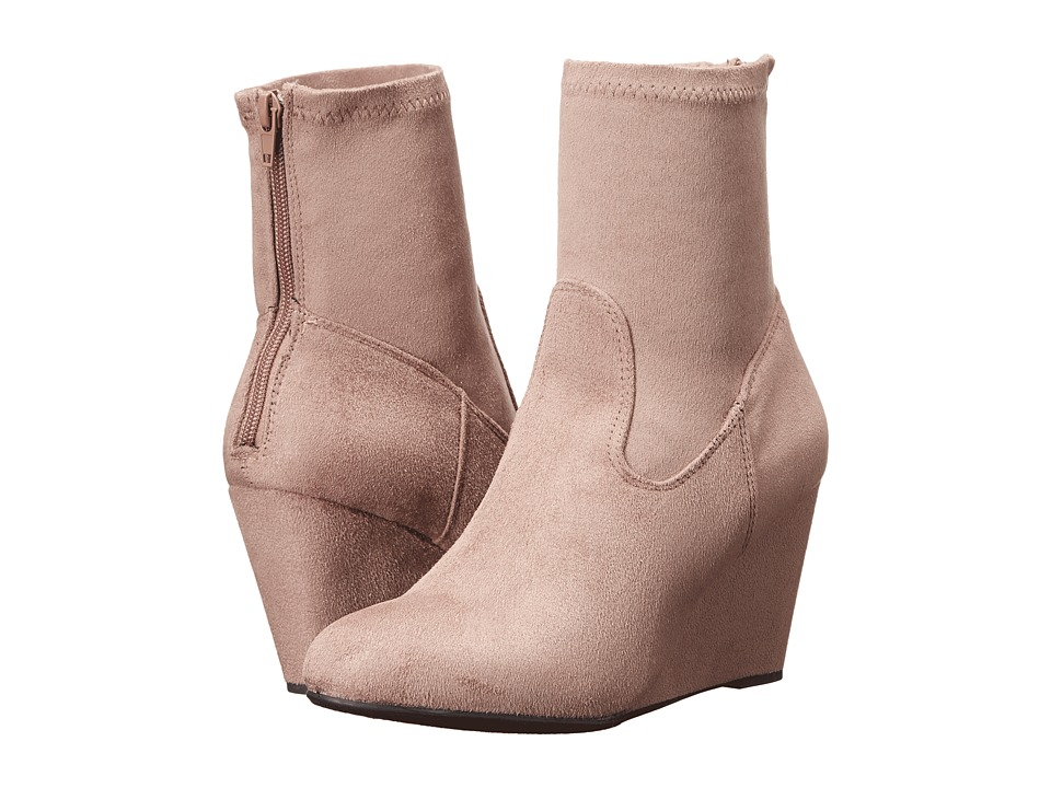 Chinese Laundry - Upscale (Grey Suedette) Women's Boots
