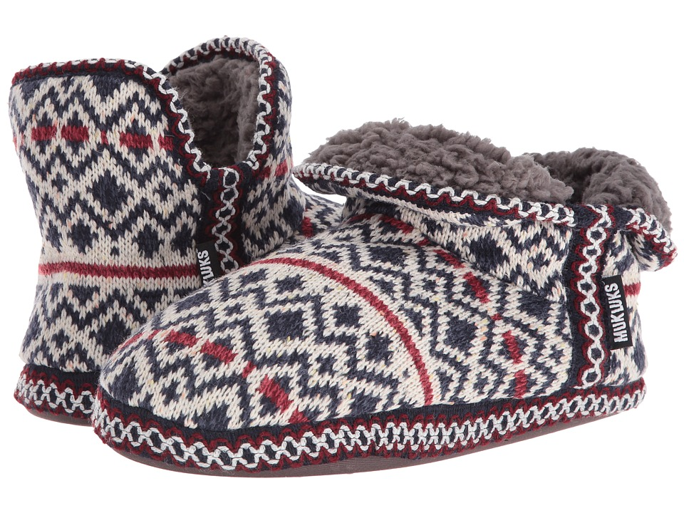 MUK LUKS - Amira Slipper (Americana) Women's Slippers