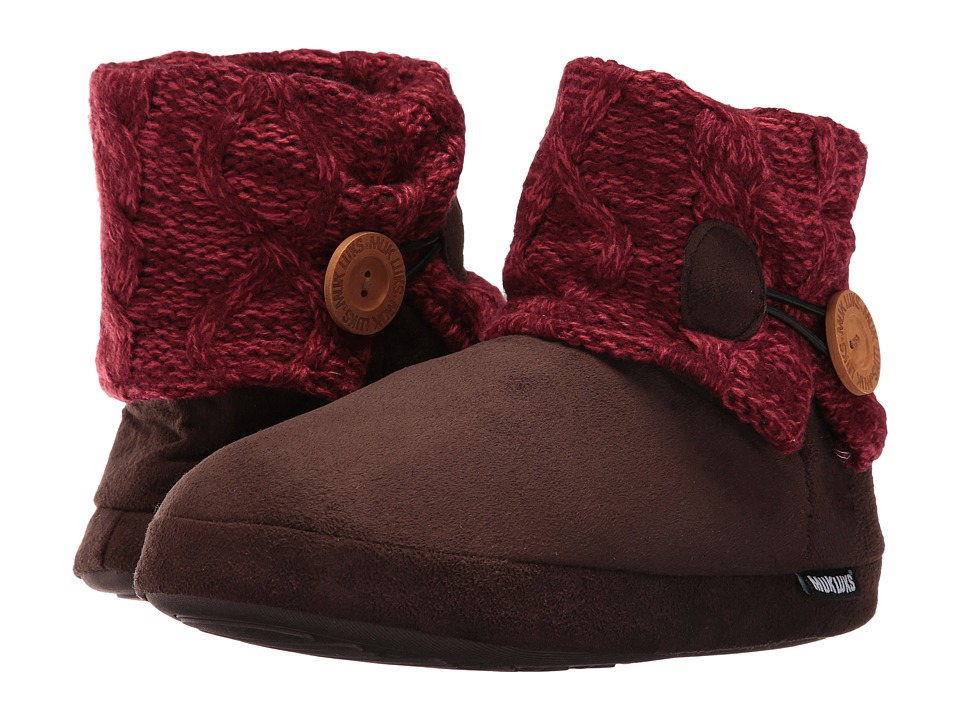 MUK LUKS - Patti Slipper (Red) Women's Slippers