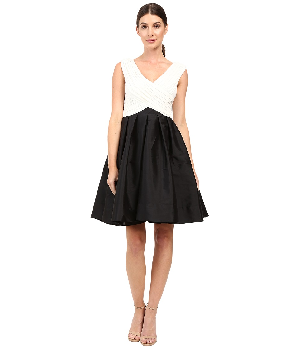 Adrianna Papell Tafeta Fit and Flare Dress