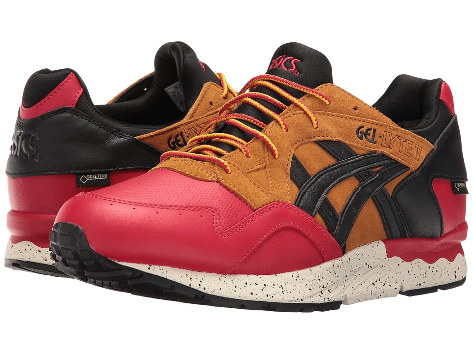 buy popular dee63 6878c ASICS Tiger - Gel-Lyte V G-TX (Red/Black) Athletic Shoes ...