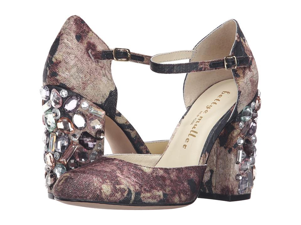 Bettye Muller Bejeweled (Charcoal Multi) High Heels