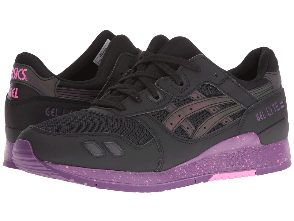 ASICS Tiger Gel-Lyte III (Black/Black) Athletic Shoes