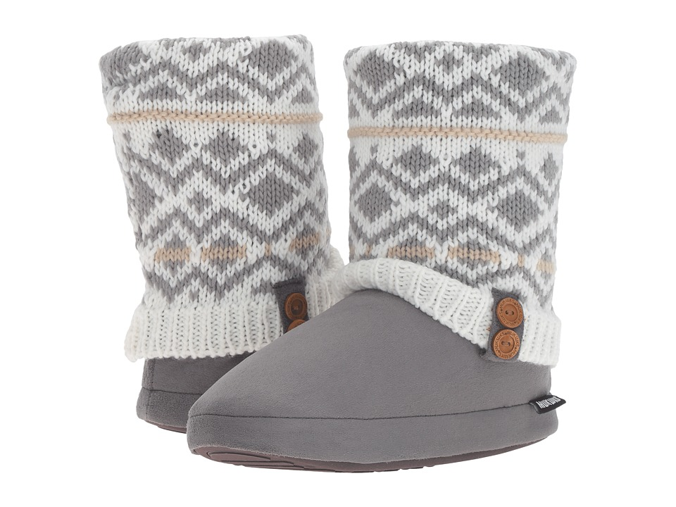 MUK LUKS - Sofia Slipper (Winter White) Women's Slippers