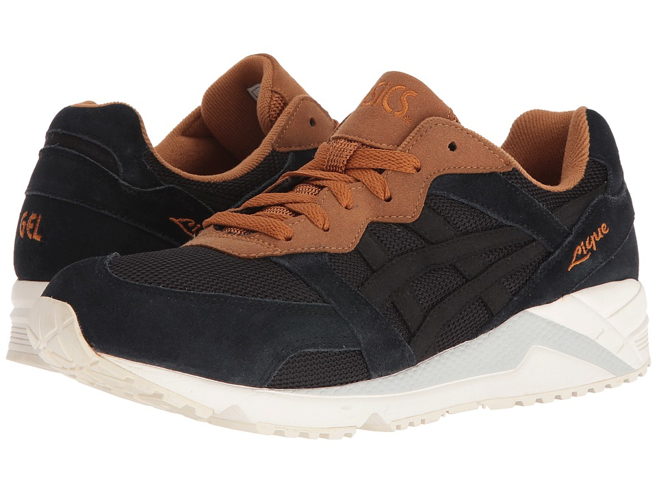 Onitsuka Tiger by Asics - Gel-Lique (Black/Cathay Spice) Athletic Shoes
