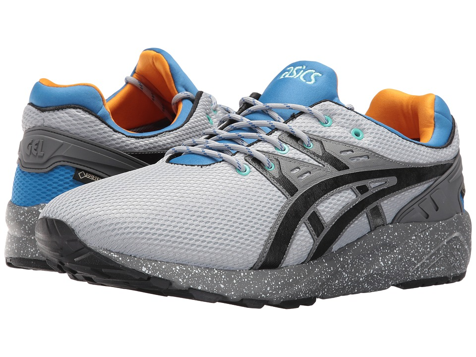 ASICS Tiger - Gel-Kayano Trainer EVO G-TX (Light Grey/Black) Running Shoes