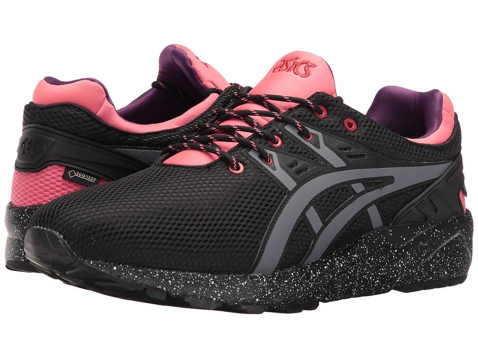 ASICS Tiger - Gel-Kayano Trainer EVO G-TX (Black/Grey) Running Shoes