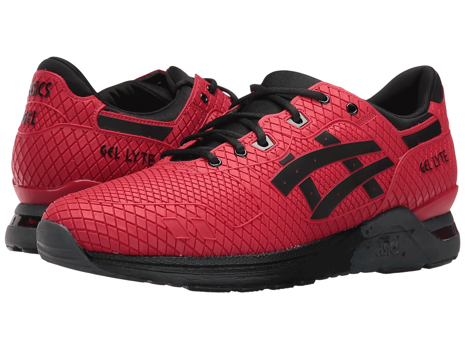 ASICS Tiger Gel-Lyte EVO (Red/Red) Athletic Shoes