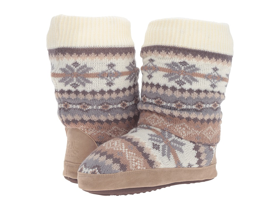 MUK LUKS - Vanessa Slipper (Ivory) Women's Slippers