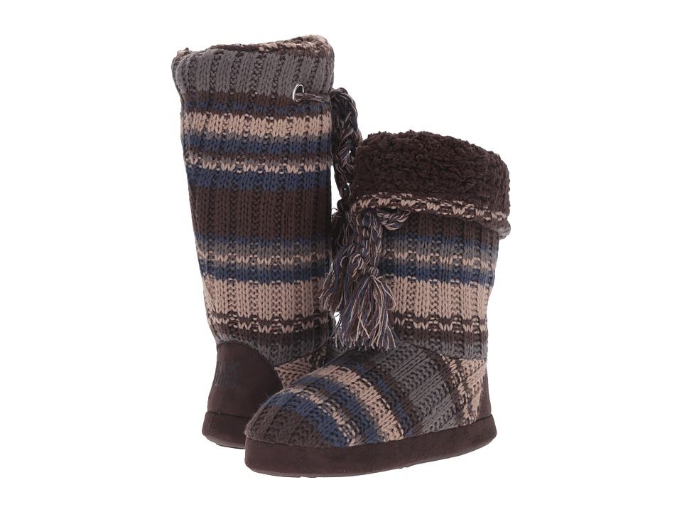 MUK LUKS - Grace Slipper (Stripe) Women's Slippers