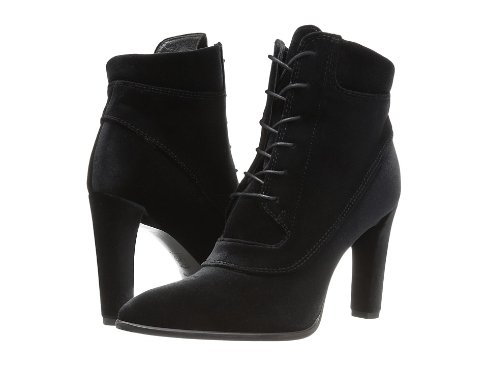 Stuart Weitzman - Ruggy (Black Velour) Women's Shoes