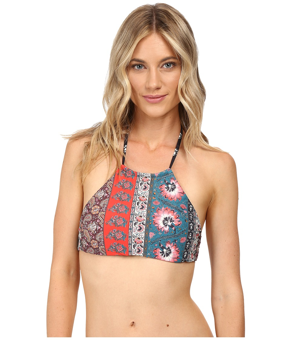 Billabong - Moon Dancer High Neck Top (Multi) Women's Swimwear