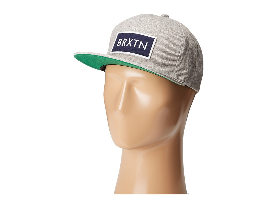 Brixton - Rift (Heather Grey/Navy) Baseball Caps