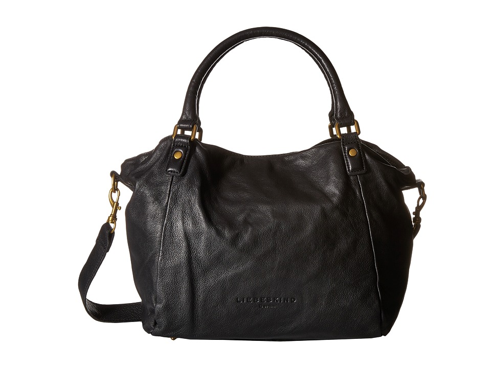 Liebeskind - Amanda B Satchel (Black) Satchel Handbags