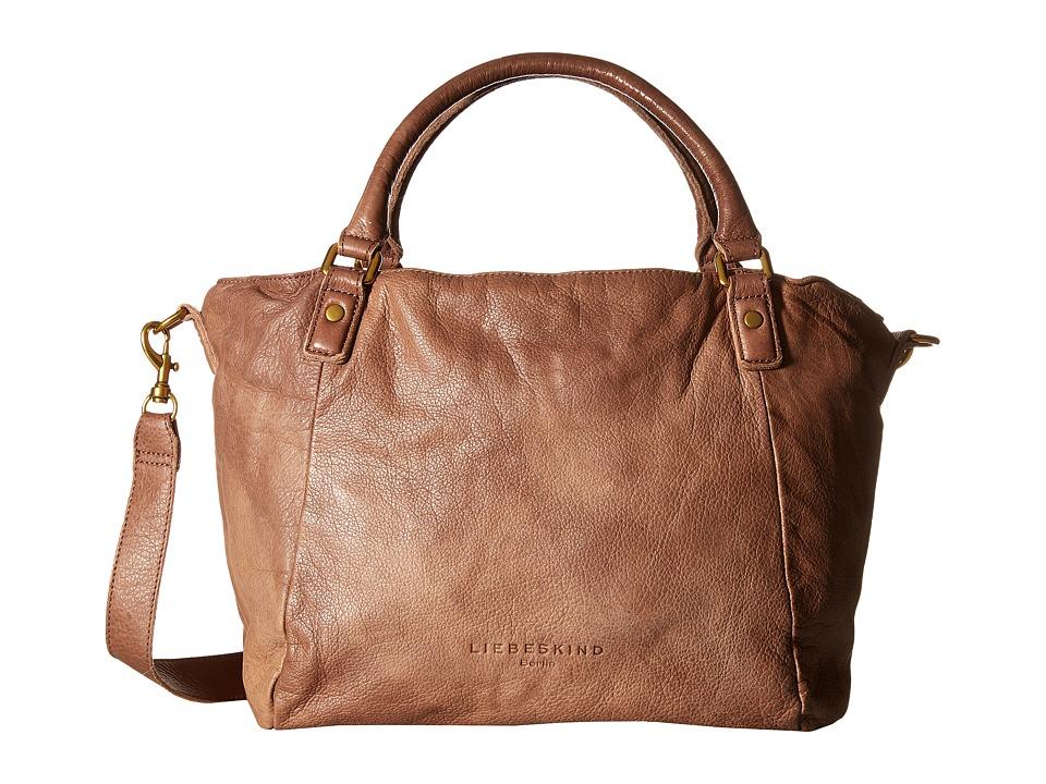Liebeskind - Amanda B Satchel (Caramel) Satchel Handbags