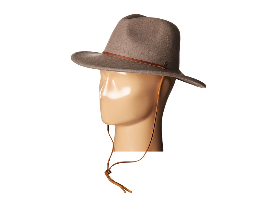 Brixton - Field Hat (Taupe/Brown) Traditional Hats