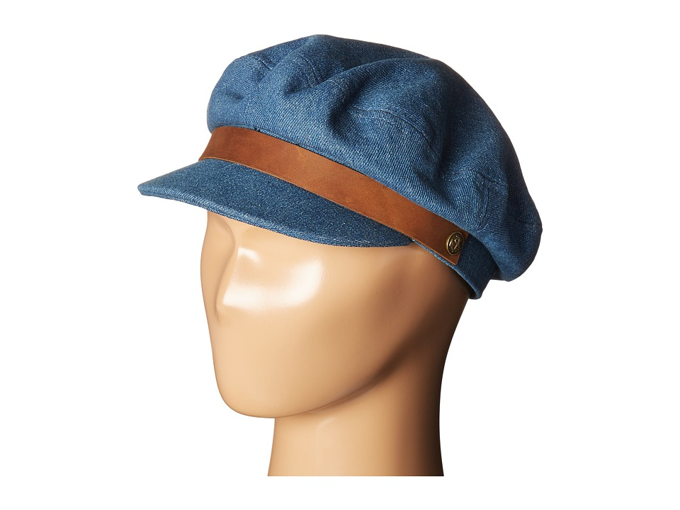 Brixton - Fiddler (Light Denim) Traditional Hats