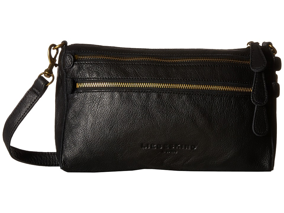 Liebeskind - Kara Crossbody (Black) Cross Body Handbags