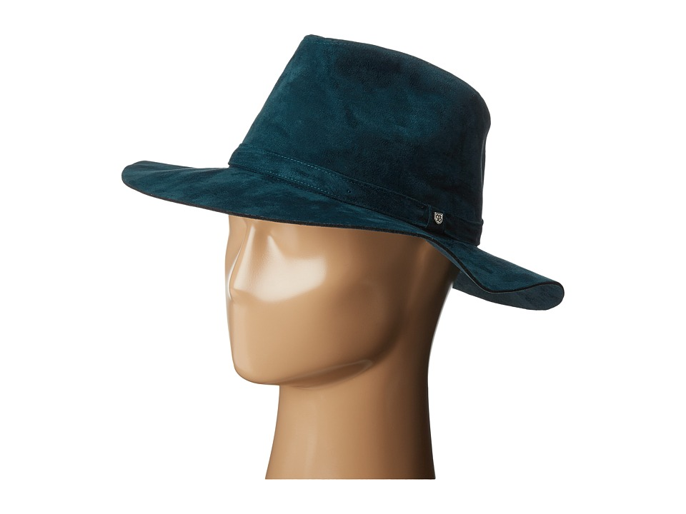 Brixton - Highland Fedora (Captain Blue) Traditional Hats